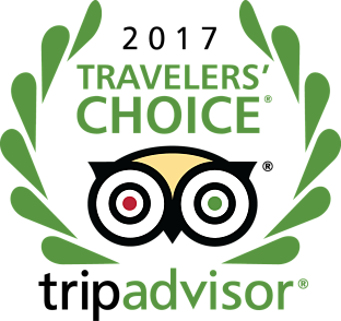 2017 Travelers' Choice Award Winner
