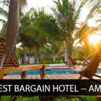 Travelers' Choice Award - Best Bargain Hotel Ambergris Caye