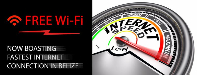 Free Wi-Fi & Fastest Internet Connection in Belize