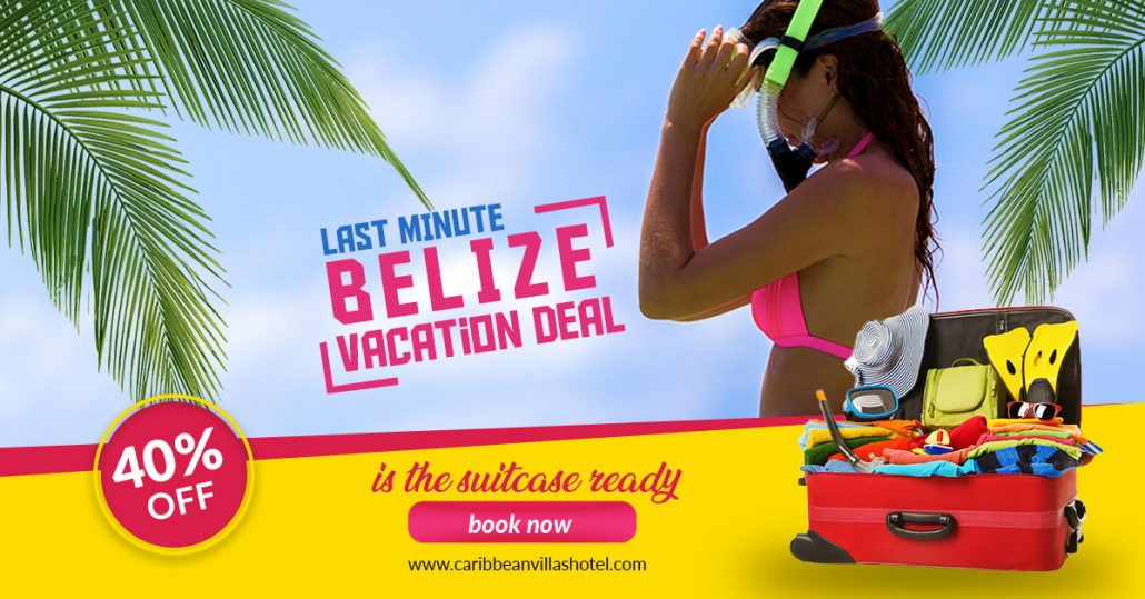 Last Minute Belize Vacation Deal