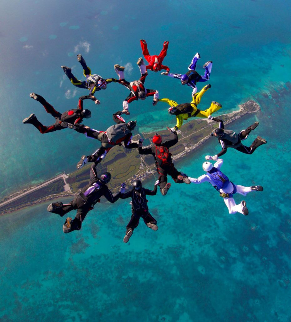Sky Diving Belize